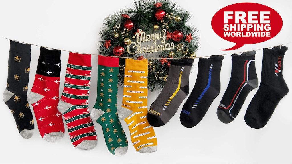MP Magic Socks: The World's Best Odorless Socks project video thumbnail
