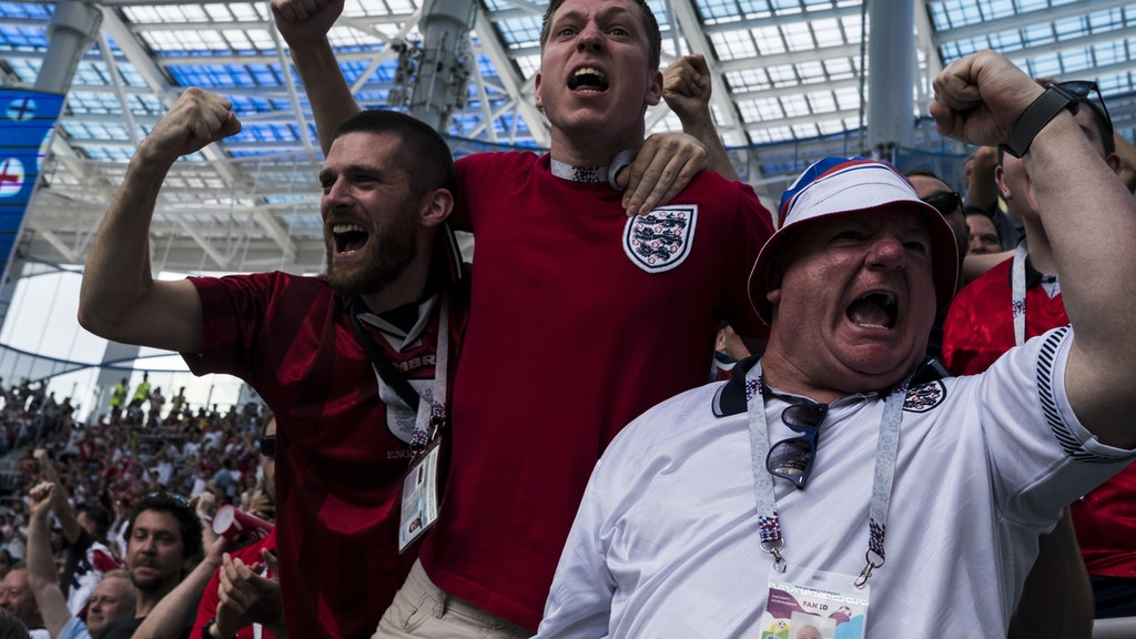 'England Fans In Russia' - World Cup Photography Book project video thumbnail