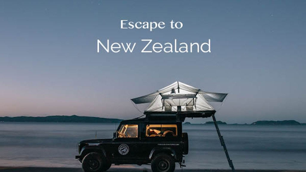 Project image for Escape to New Zealand