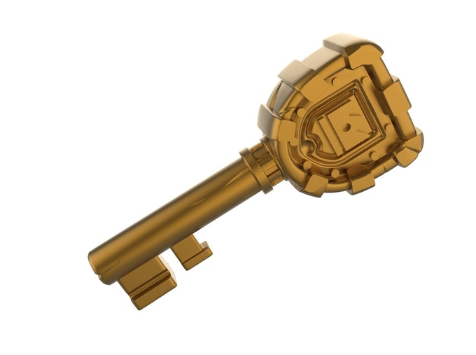 EVERY pledge that contains the Belfort Coins will get this Kickstarter exclusive metal Key to the City of Belfort! (Image is the 3D mockup - design not final)