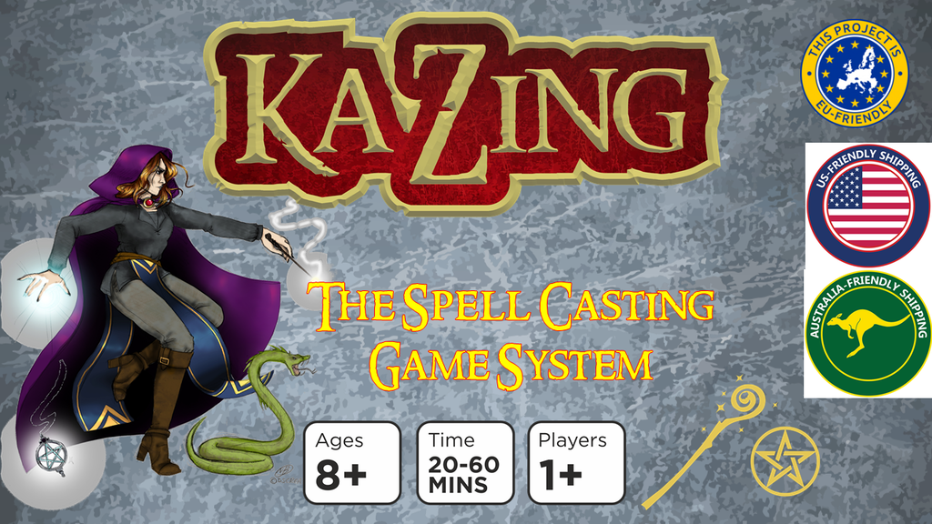 Project image for Ka-Zing: The Spell Casting Game System (Canceled)