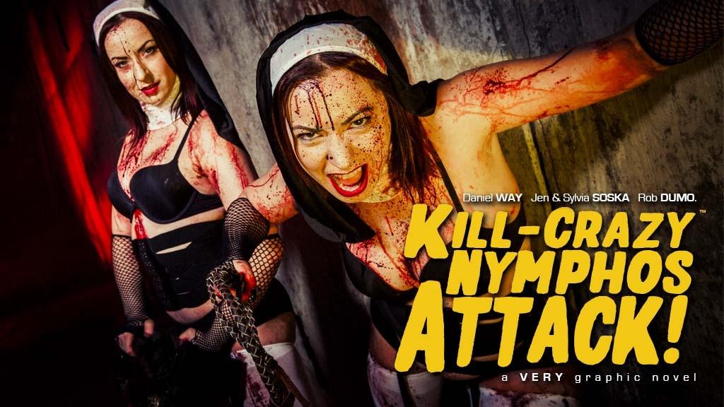 Kill-Crazy Nymphos ATTACK! Digital Edition project video thumbnail