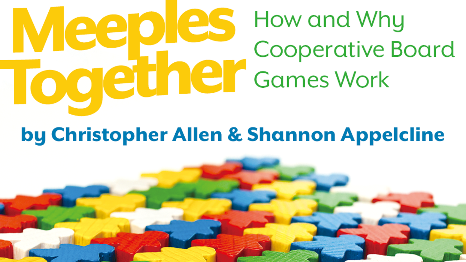 A book for people who play, discuss, critique, design, and love cooperative board games. Pre-orders closed during fulfillment. Digital editions on public sale on March 5, and the street date for physical editions (outside backer stores) is May 1.