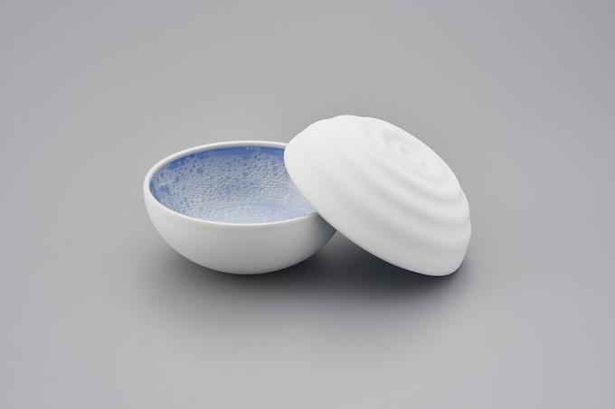 Bonbonnière > Ripple blue *Finished product photo