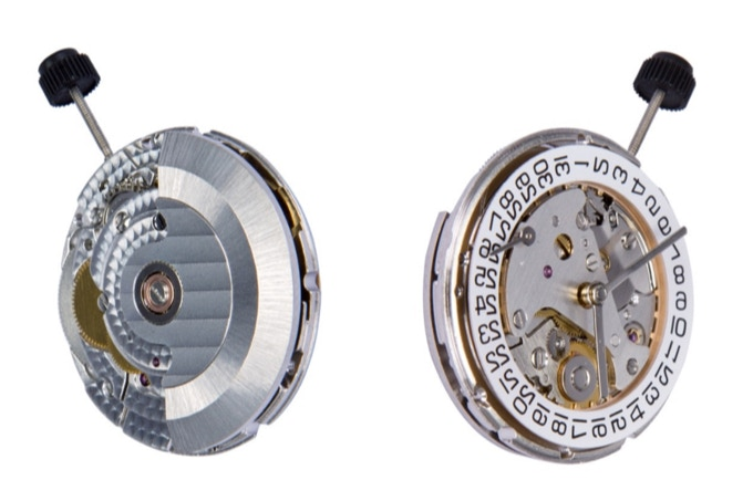 The Peacock SL 3006 - a beautifully-made movement built for reliability (we get the date mechanism removed for our watches)