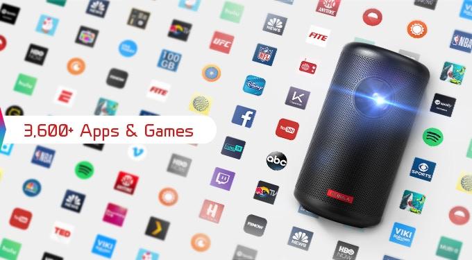Nebula Capsule II: World's First Android TV™ Pocket Cinema