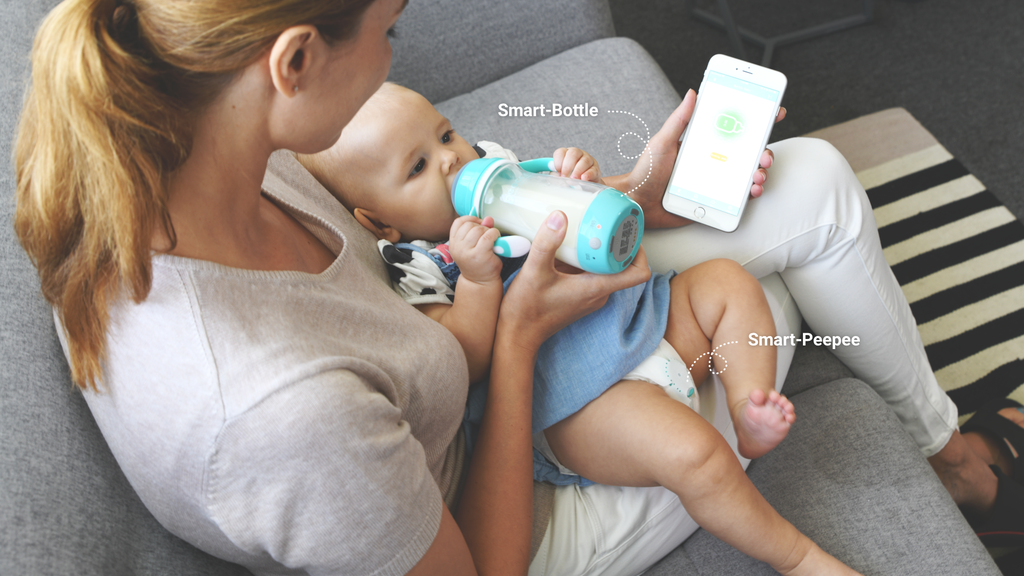 Smart Baby Feeding Bottle and Diaper Sensor project video thumbnail