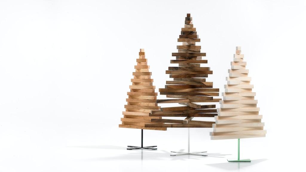 YELKA △ The Minimalist Wooden Christmas Tree project video thumbnail