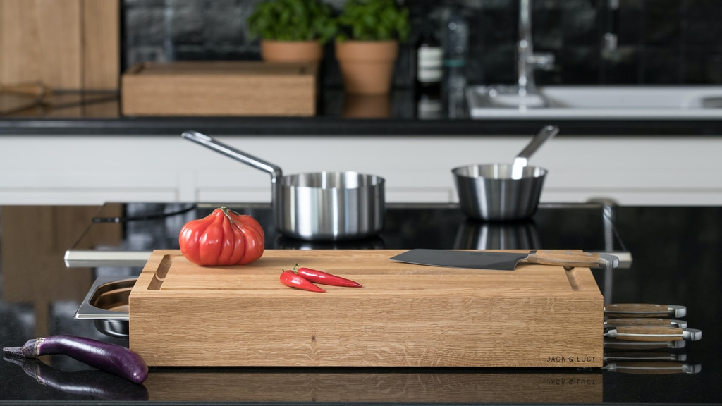Workstation ONE | The Multifunctional Cutting Board