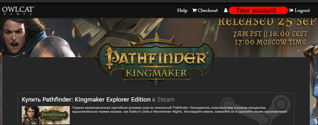pathfinder kingmaker patch download gog