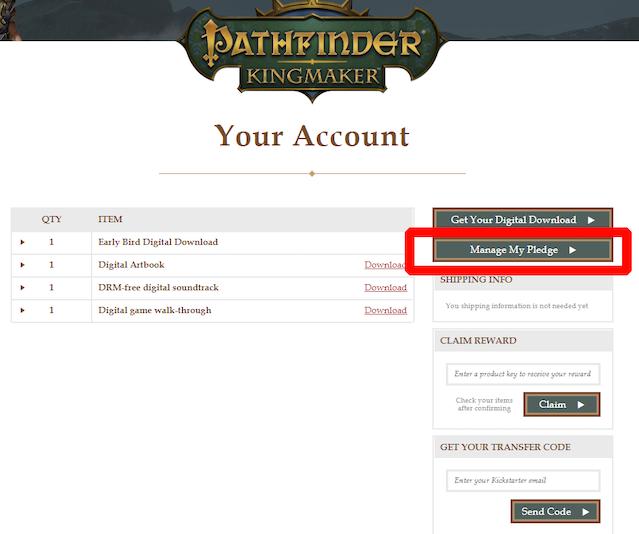 Pathfinder: Kingmaker by Owlcat Games — Kickstarter