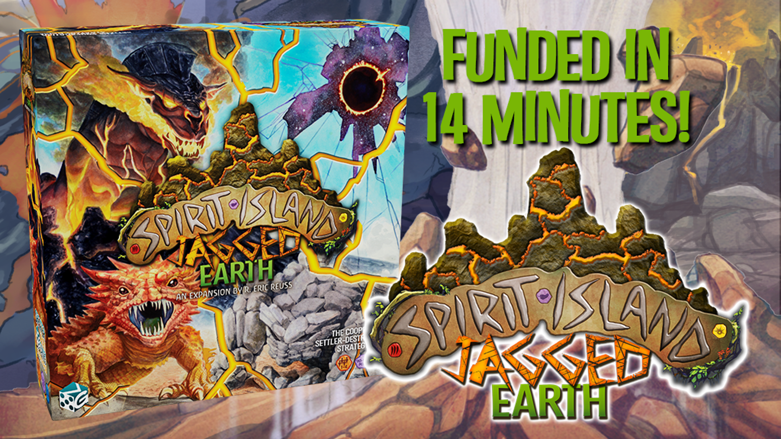 Spirit Island: Jagged Earth by GreaterThanGames — Kickstarter