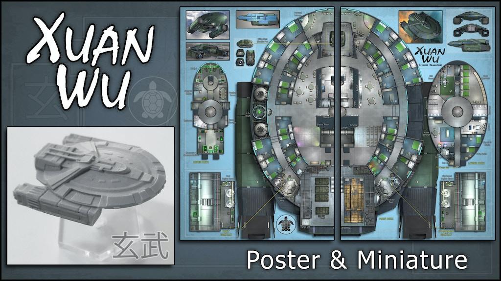 Xuan Wu: Starship Map & Miniature project video thumbnail
