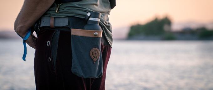Secret inner pocket for valuables. Shh.