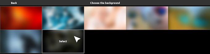 Custom background images