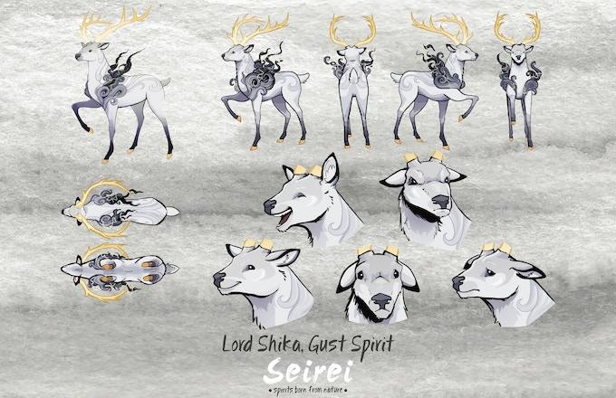Lord Shika, Gust Spirit