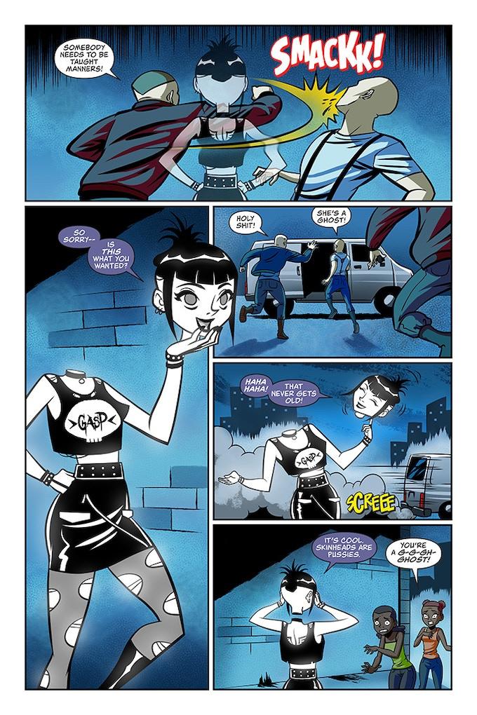Goth Ghost Girl: Bloodbath comic by John Schlim Jr — Kickstarter