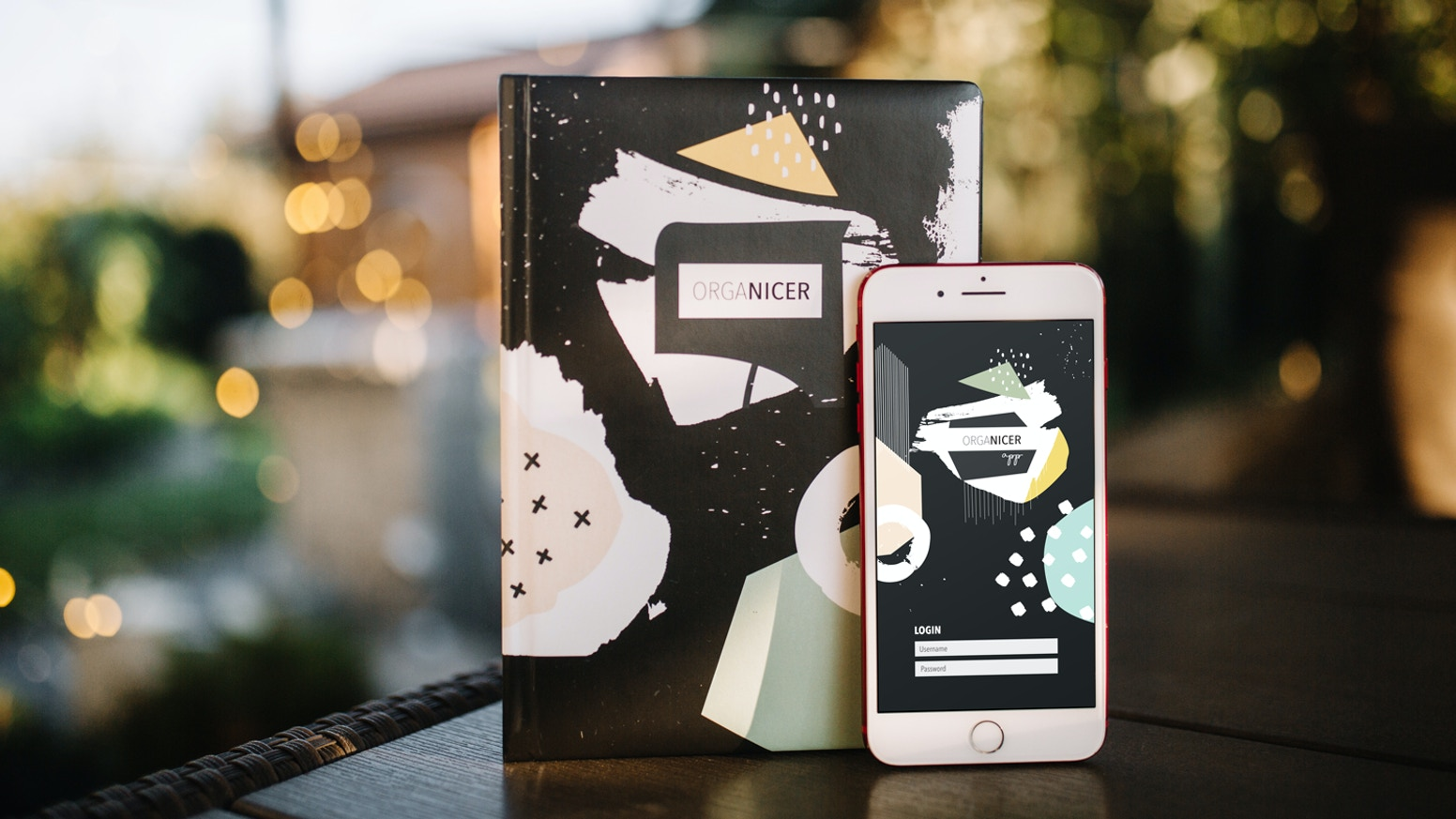 Organicer is an artsy, colorful and well structured smart planner connecting best features of analog and digital planning.