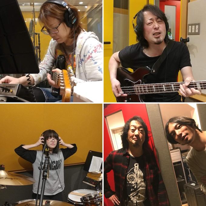 Mika,Ryoko,Sujaku and Arie Last time Recording