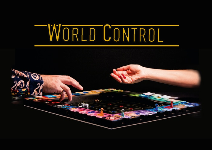 Imagine Monopoly, Risk & Catan having a threesome inside a board, that is making Jumanji look old! www.world-control.net
