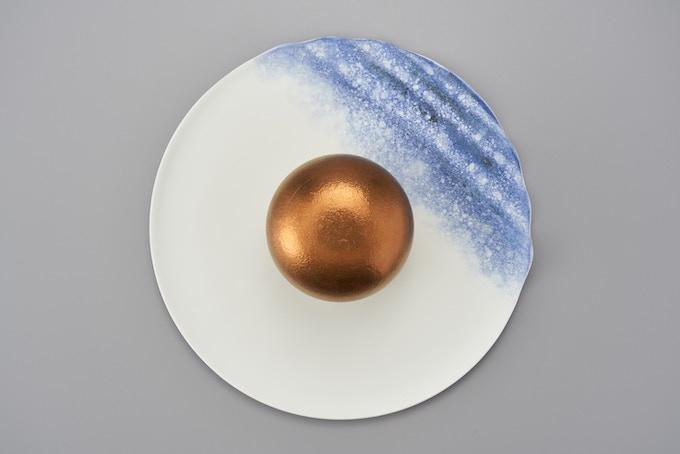 A set of Bonbonnière + Seashore Plate