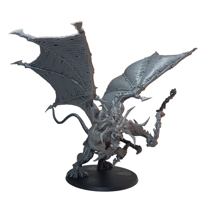 Add a Winged Netherlord II to your pledge for £140