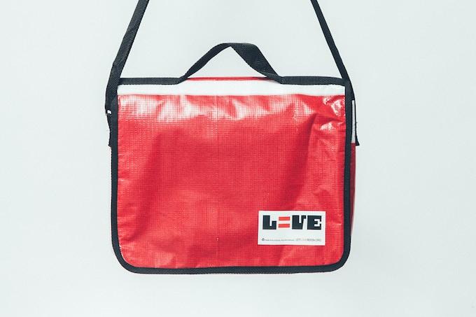 Let Love Reign Billboard Messenger Bag