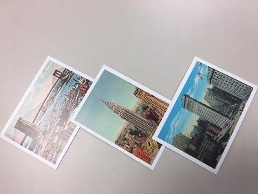 $25 – Set of 3 historic postcards of New York City Landmarks.