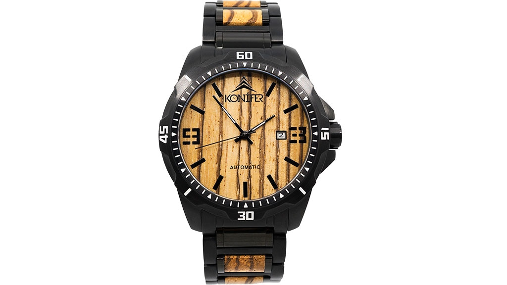 Klassic - Automatic wooden & steel watch inspired by nature project video thumbnail
