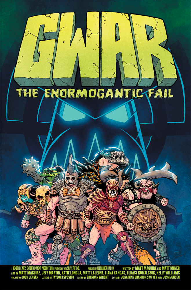 visit GWARCOMIC.COM to pre-order now!