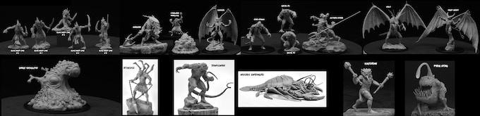 Kickstarter Miniatures Available Now