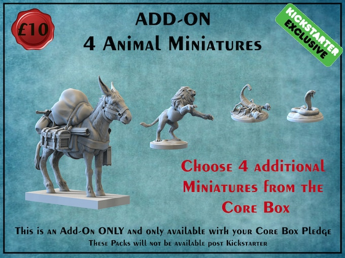 In order to make sure production runs as planned and all molds can viably be made this is an Add-On option only and must be purchased in conjunction with the core box pledge.