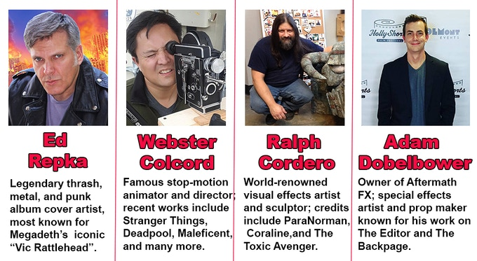 MEET OUR WORLD FAMOUS SPECIAL FX AND ARTISTS