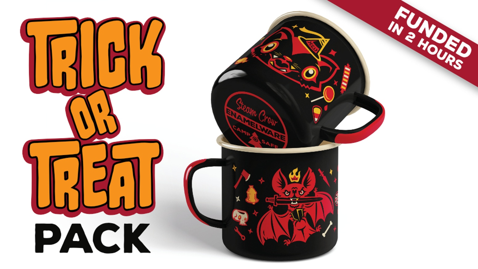 Trick OR Treat Halloween Pack by Steam Crow » First Bonus Button