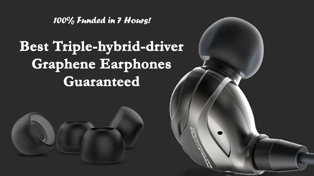 Best Triple-hybrid-driver Graphene Earphones - Under $35