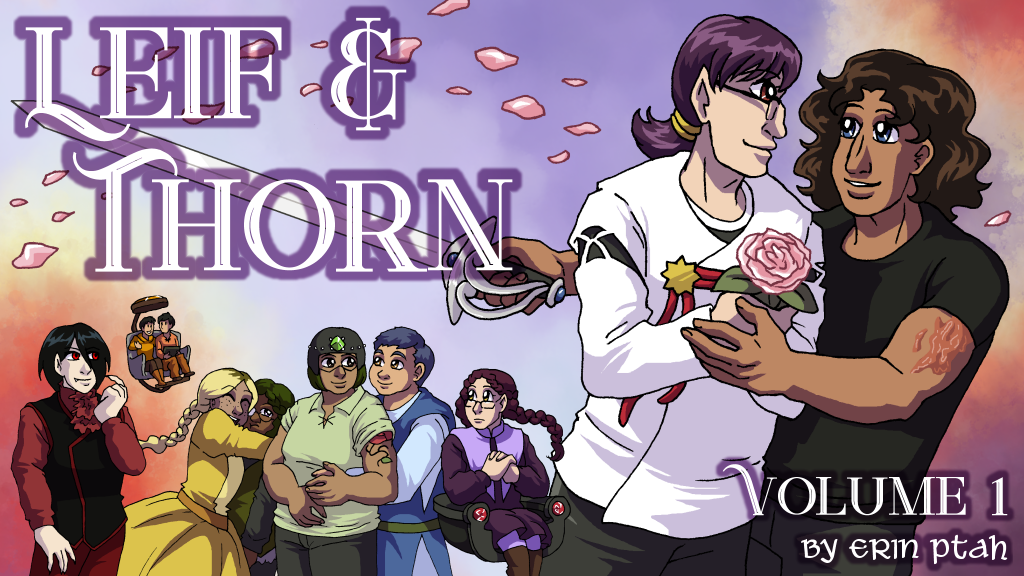 Leif & Thorn Volume 1: Sparkly cross-cultural fantasy comedy project video thumbnail