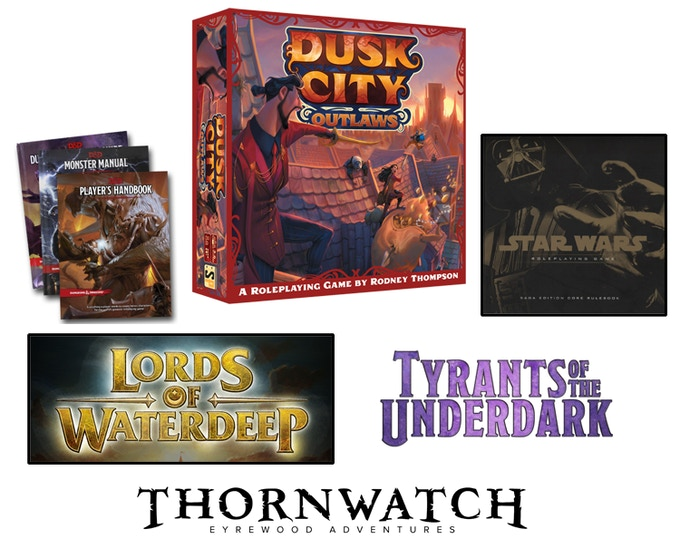 A few games I have had a hand in designing.