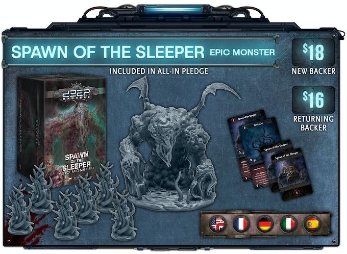Deep Madness (Second Printing) by Diemension Games — Kickstarter