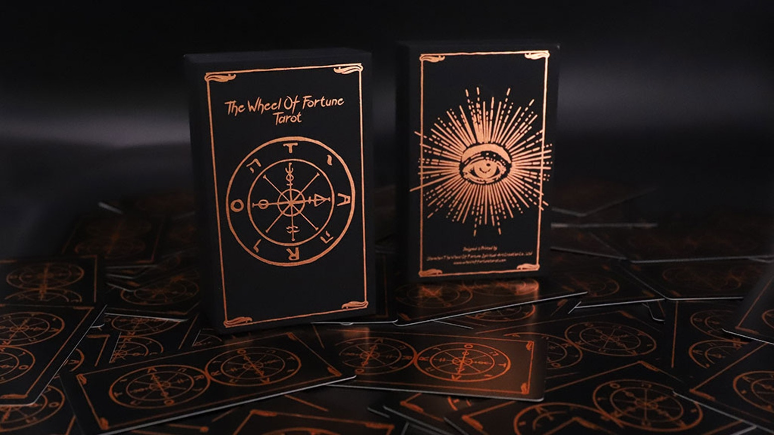 Wheel Of Fortune Tarot Card Deck by The Wheel Of Fortune