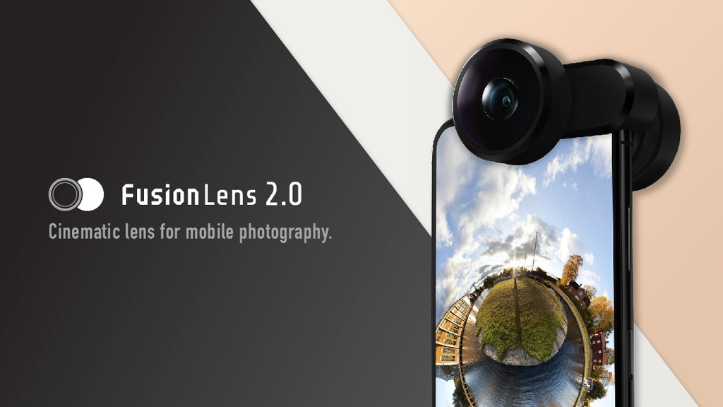 FusionLens 2.0: Most powerful lens for mobile photography