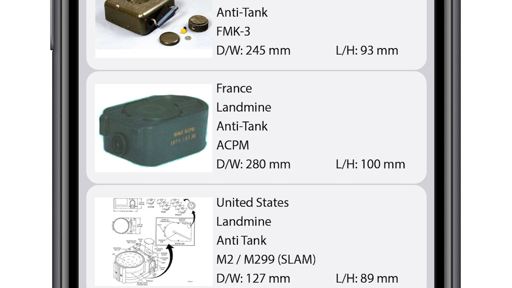 Project image for SOrD -Searchable Ordnance Database (Canceled)