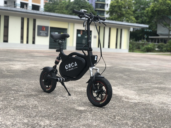 ORCA Mark I - Most Convenient and Powerful Electric Vehicle