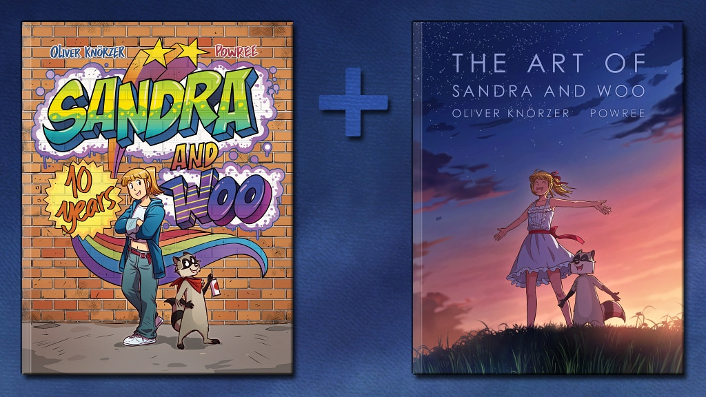 Sandra and Woo: 10 Years Anthology + Art Book project video thumbnail