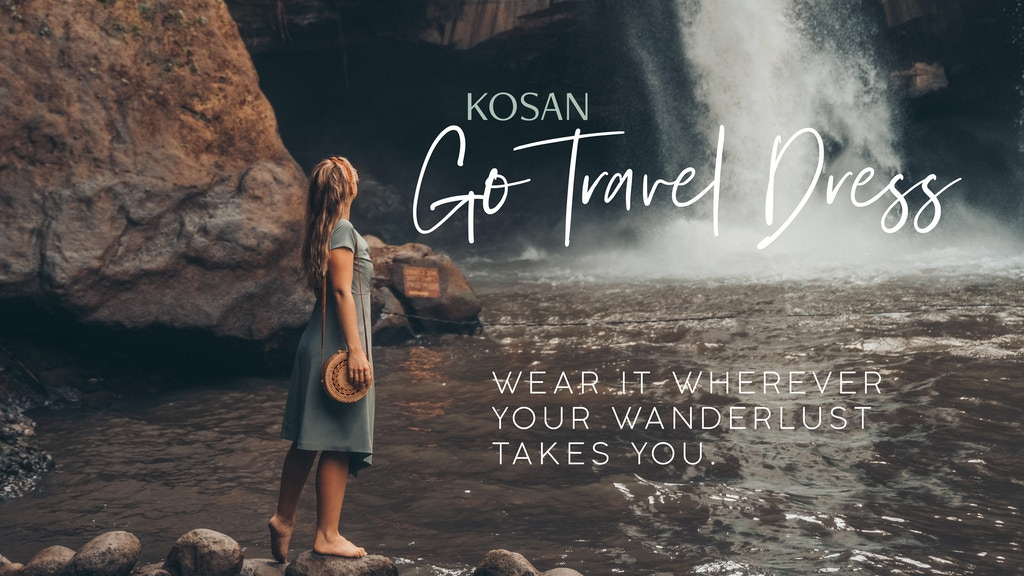 The Kosan Go Travel Dress project video thumbnail