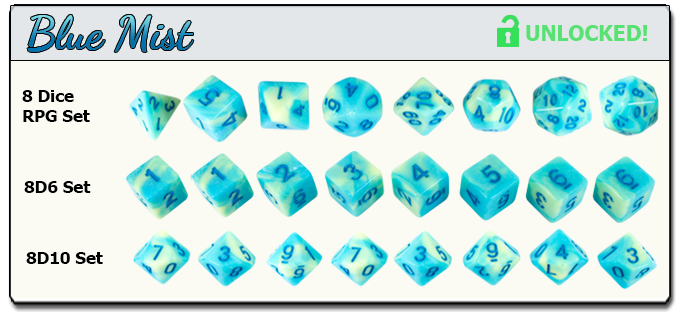 Gorgeous RPG Dice Sets for DnD and other roleplaying games