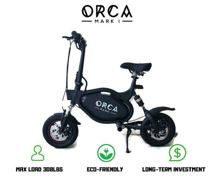 Introducing: ORCA Mark I Electric Scooter