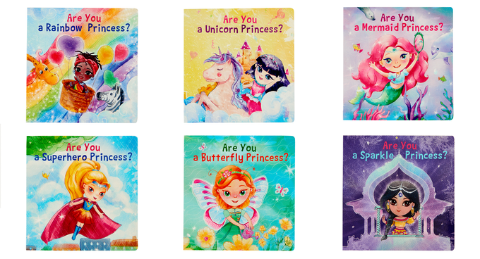 The Princess Book Set