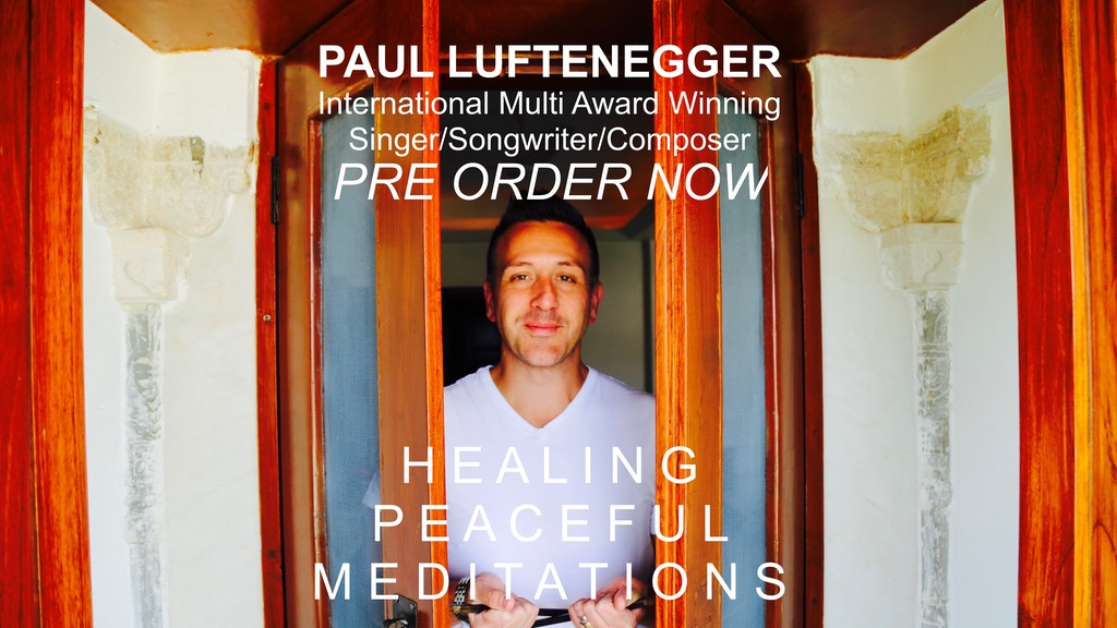 A NEW Healing Peaceful Meditation Album To Help The World! project video thumbnail