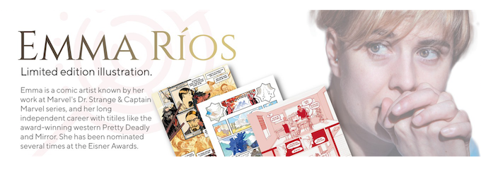 Click on the image for more info about Emma Ríos