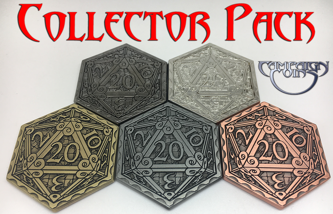 Epic D20 Collector Pack